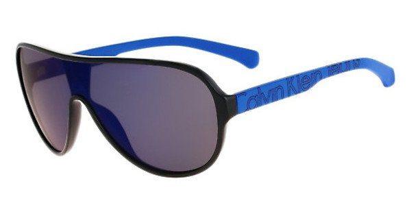 Calvin Klein Herren Sonnenbrille » CKJ780S« in 001 - schwarz