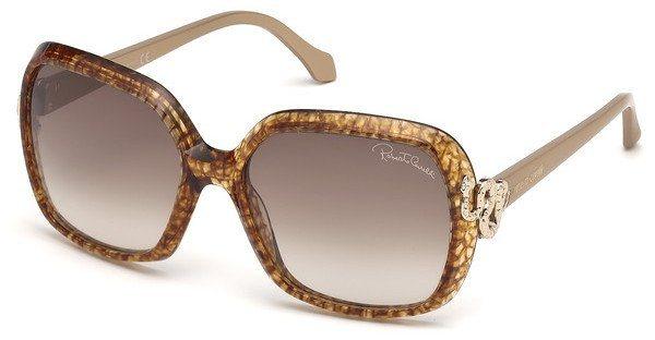 Roberto Cavalli Damen Sonnenbrille » RC1016« in 50F - braun/braun