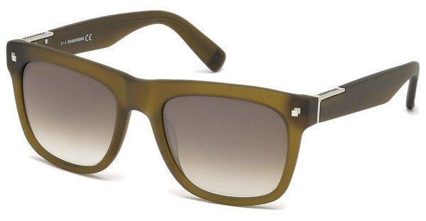 Dsquared² Sonnenbrille » DQ0212« in 46P - braun/grün