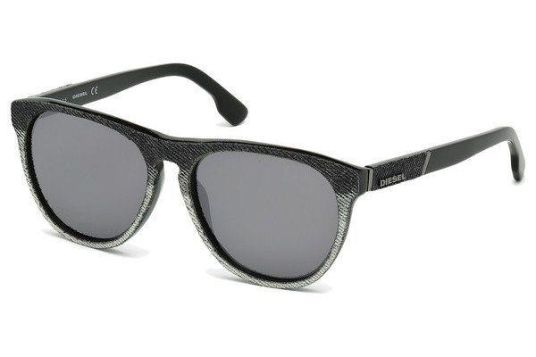 Diesel Sonnenbrille » DL0168« in 05C - schwarz/grau
