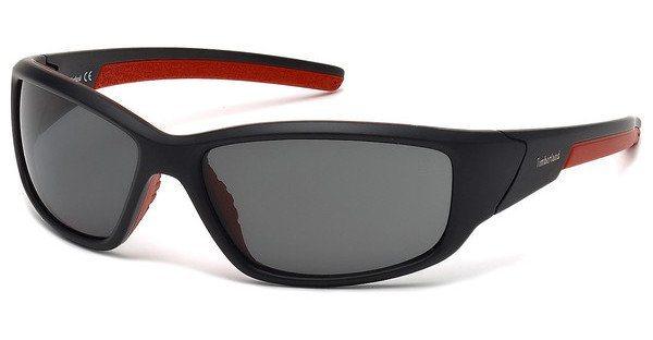 Timberland Herren Sonnenbrille » TB9049« in 02D - schwarz/grau