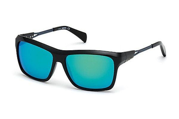 Diesel Herren Sonnenbrille » DL0091« in schwarz