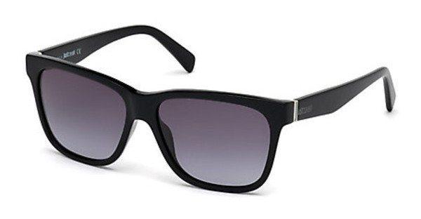 Just Cavalli Herren Sonnenbrille » JC736S« in 01B - schwarz/grau