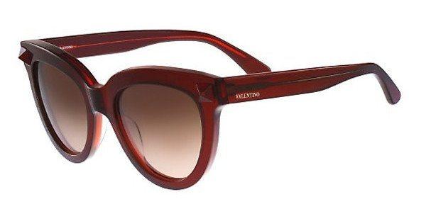 Valentino Damen Sonnenbrille » V722S« in 210 - braun