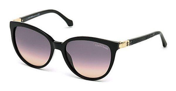 Roberto Cavalli Damen Sonnenbrille » RC986S« in 01B - schwarz/grau