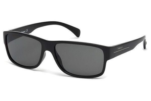 Timberland Herren Sonnenbrille » TB9064« in 01D - schwarz/grau