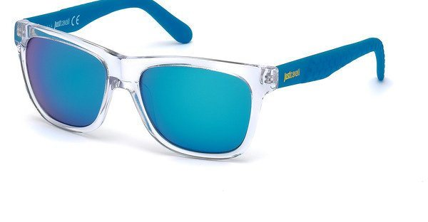 Just Cavalli Sonnenbrille » JC648S« in 26X - weiß/blau
