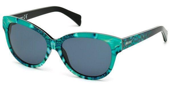 Just Cavalli Damen Sonnenbrille » JC717S« in 98V - grün/blau