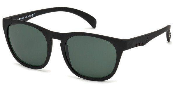 Diesel Herren Sonnenbrille » DL0170« in 02A - schwarz/grau