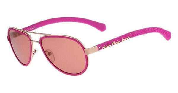 Calvin Klein Sonnenbrille » CKJ463S« in 704 - rosa/rot