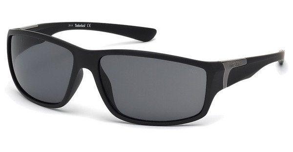 Timberland Herren Sonnenbrille » TB9068«, schwarz, 02D - schwarz/grau