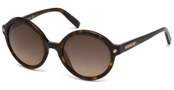 Dsquared2 Damen Sonnenbrille » DQ0130«, braun, 52F - braun/braun