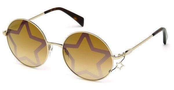 Just Cavalli Damen Sonnenbrille » JC722S« in 28G - gold