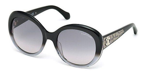 Roberto Cavalli Damen Sonnenbrille » RC983S« in 05B - schwarz/grau