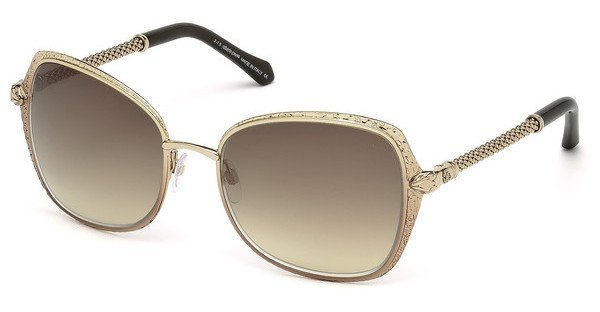 Roberto Cavalli Damen Sonnenbrille » RC977S« in 33G - gold/braun
