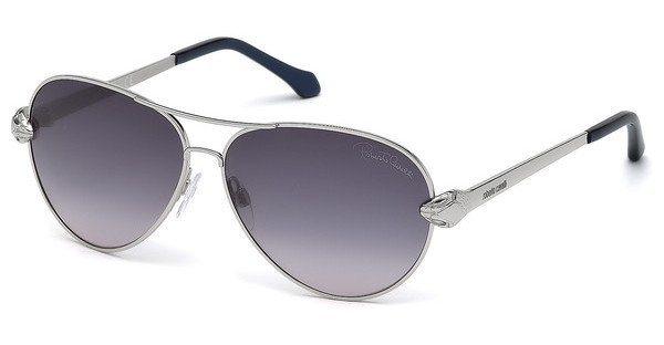 Roberto Cavalli Damen Sonnenbrille » RC884S« in 16B - silber/grau