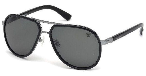 Timberland Herren Sonnenbrille » TB9067« in 05D - schwarz/grau