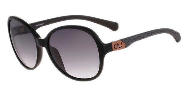 Calvin Klein Damen Sonnenbrille » CKJ778S« in 001 - schwarz/grau
