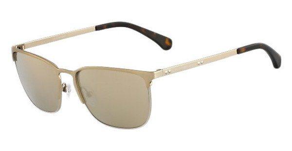Calvin Klein Herren Sonnenbrille » CKJ122S« in 702 - gold