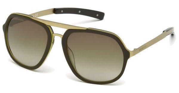 Dsquared² Herren Sonnenbrille » DQ0213« in 50P - braun/grün