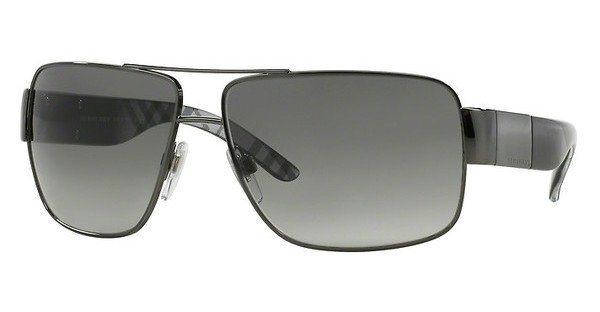 Burberry Herren Sonnenbrille » BE3040« in 105711 - grau/grau