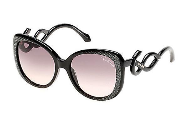 Roberto Cavalli Damen Sonnenbrille » RC911S« in 05B - schwarz/grau