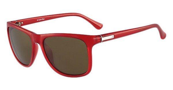 Calvin Klein Sonnenbrille » CK3160S« in 075 - rot