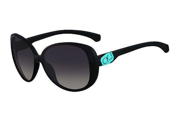 Calvin Klein Damen Sonnenbrille » CKJ726S« in 001 -  schwarz