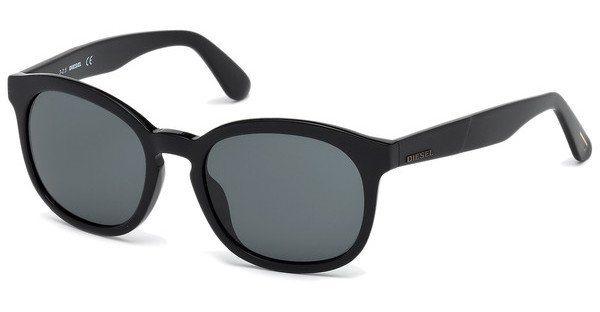 Diesel Sonnenbrille » DL0190« in 01N - schwarz/grün
