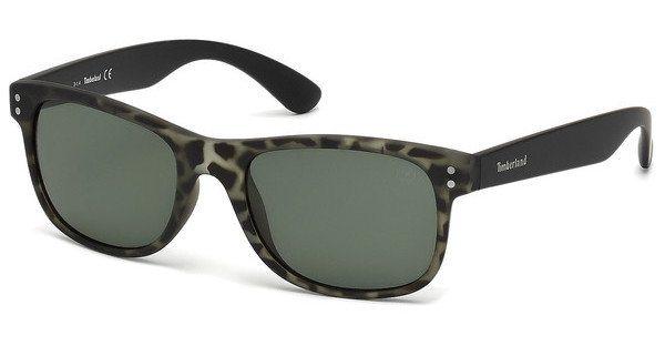 Timberland Herren Sonnenbrille » TB9063« in 98R - grün/grün
