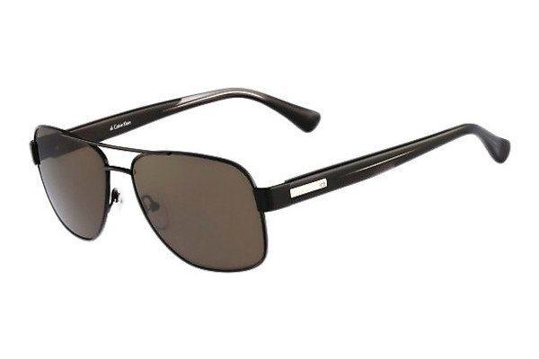 Calvin Klein Herren Sonnenbrille » CK1204SRX« in schwarz
