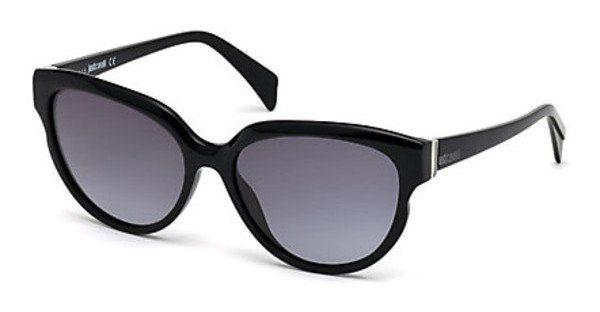 Just Cavalli Damen Sonnenbrille » JC735S« in 01B - schwarz/grau
