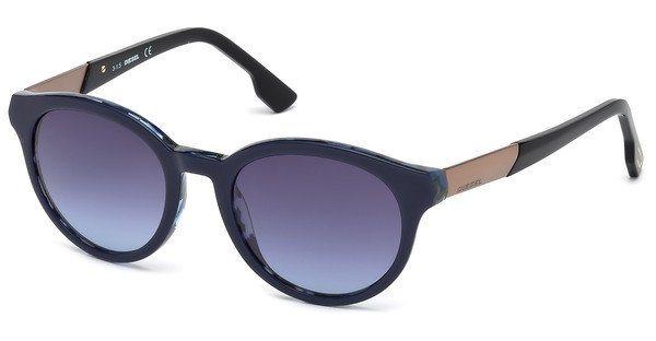 Diesel Sonnenbrille » DL0186« in 92Z - blau/lila