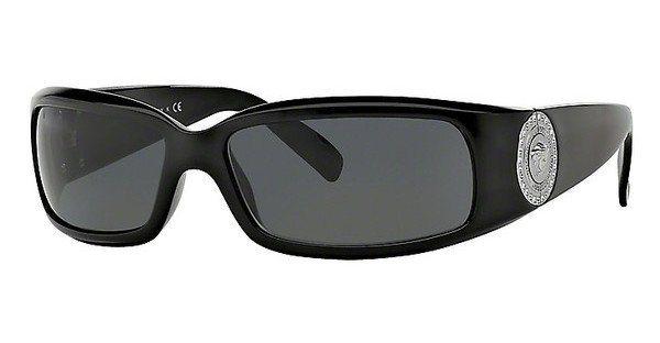 Versace Damen Sonnenbrille » VE4044B« in GB1/87 - schwarz/grau