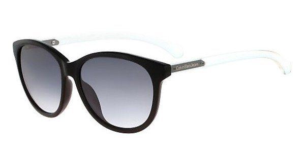 Calvin Klein Damen Sonnenbrille » CKJ753S« in 001 - schwarz