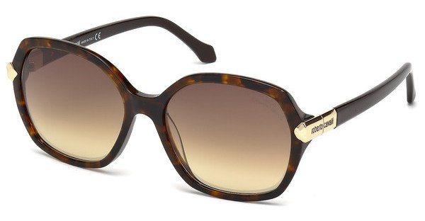 Roberto Cavalli Damen Sonnenbrille » RC903S« in 52G - braun/braun