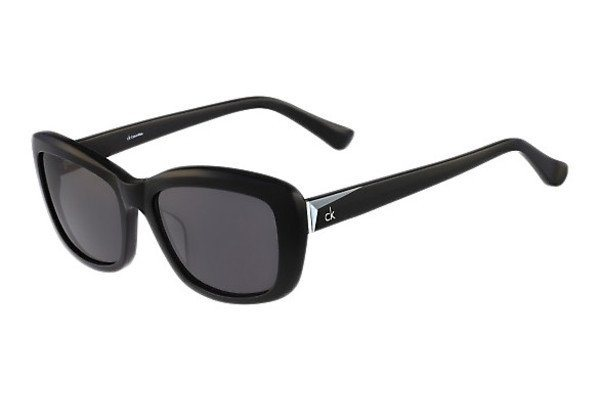 Calvin Klein Damen Sonnenbrille » CK4262SRX« in schwarz