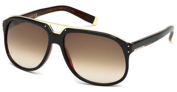 Dsquared² Herren Sonnenbrille » DQ0005« in 05F - schwarz/braun