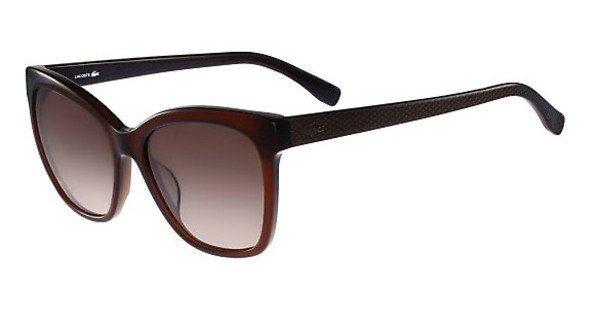 Lacoste Damen Sonnenbrille » L792S« in 210 - braun/braun
