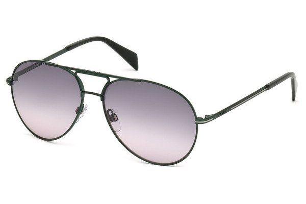 Diesel Herren Sonnenbrille » DL0163« in 97B - grün/grau