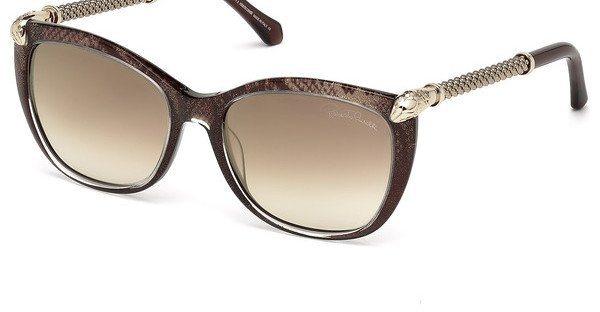 Roberto Cavalli Damen Sonnenbrille » RC978S« in 50G - braun/braun