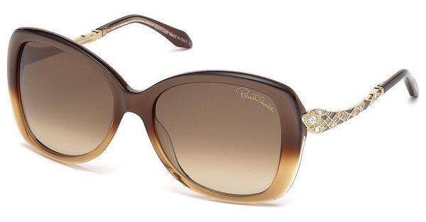 Roberto Cavalli Damen Sonnenbrille » RC917S-A« in 50F - braun/braun
