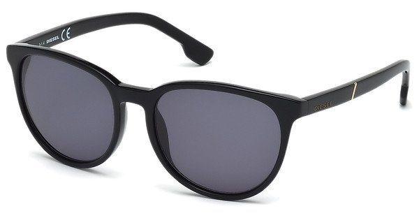 Diesel Sonnenbrille » DL0123« in 01N - schwarz/grün