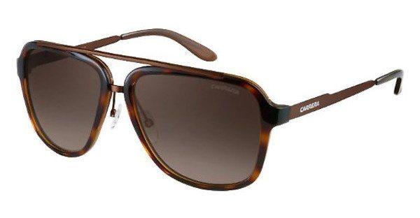 Carrera Herren Sonnenbrille » CARRERA 97/S« in 98F/HA - braun/braun