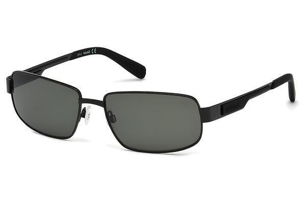 Timberland Herren Sonnenbrille » TB9060« in 02D - schwarz/grau
