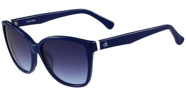 Calvin Klein Damen Sonnenbrille » CK4258S« in 438 - blau/blau