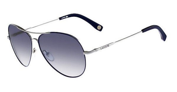 Lacoste Sonnenbrille » L174S« in 045 - silber