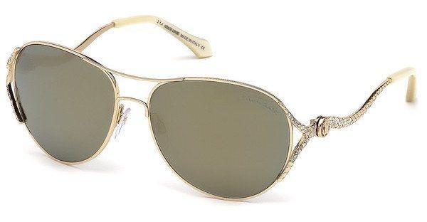Roberto Cavalli Damen Sonnenbrille » RC886S« in 28G - gold