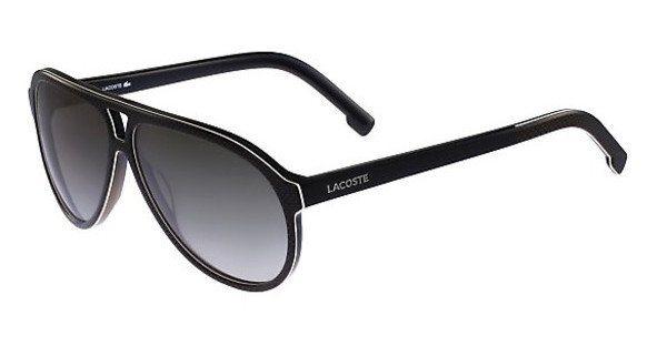 Lacoste Herren Sonnenbrille » L741S« in 001 - schwarz/grau
