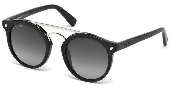 Dsquared2 Sonnenbrille » DQ0202«, schwarz, 01B - schwarz/grau
